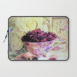 Teacups and Roses 5 Laptop Sleeve