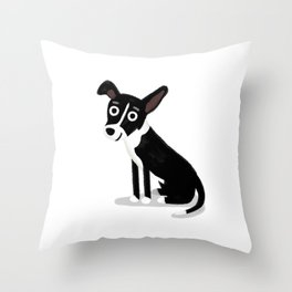 "Custom Artwork, ""Gracie"" Throw Pillow"