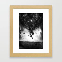 Back to origins Framed Art Print
