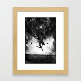 Back to origins Framed Art Print
