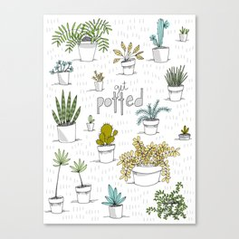 Get Potted Canvas Print