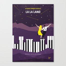 No756 My La La Land minimal movie poster Canvas Print
