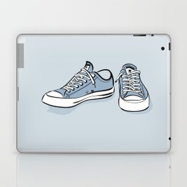 Grey Sneakers Laptop & iPad Skin