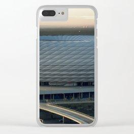 Allianz Arena Exterior Clear iPhone Case