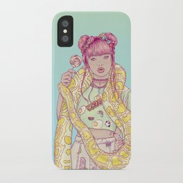 Candid Candy Lady iPhone Case