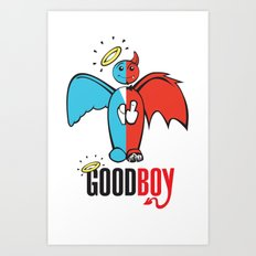 Goodboy Art Print