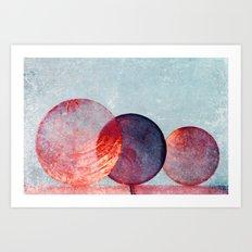 Capiz Art Print