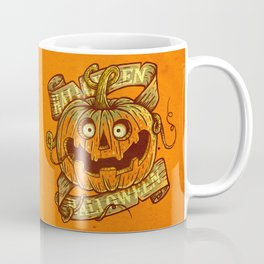 Halloween orange Coffee Mug