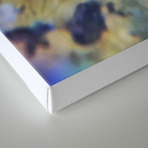 Labradorite Macro Canvas Print