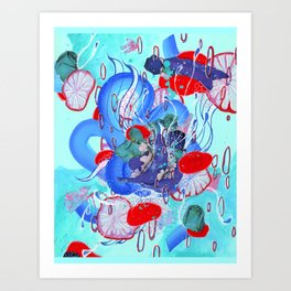 Alien Organism 30 Art Print