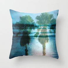 Tropical Dreams Throw Pillow