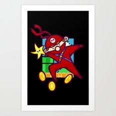 Ninja Plumber Art Print