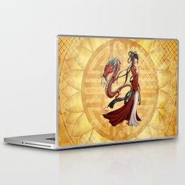 Chinese dragon Laptop & iPad Skin
