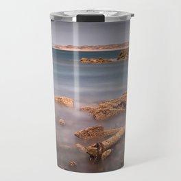 Barnacle covered anchor Travel Mug