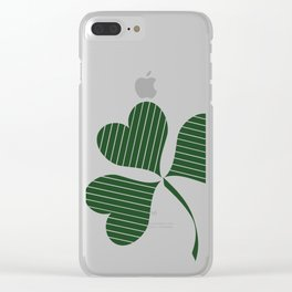 Happy St.Patrick's Day Clear iPhone Case