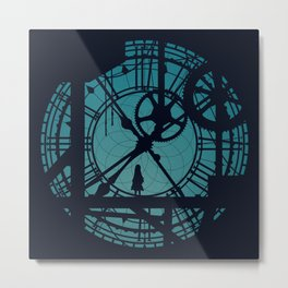 Clocktower Hideaway Metal Print