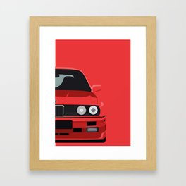 Classic 90s Car Framed Art Print