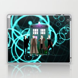 The Doctors And Tardis Laptop & iPad Skin