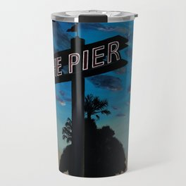 Redondo Beach Pier: Dusk Travel Mug