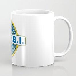 FBI Seal Mockup Coffee Mug