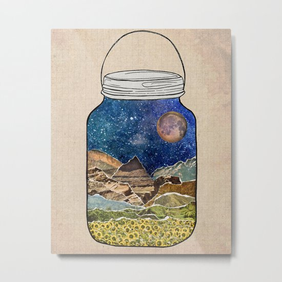 Star Jar Metal Print