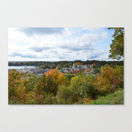 Harbor Springs Bay- View from Bluff(3) Canvas Print