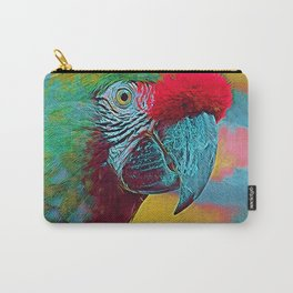 Popular Animals - Parrot Carry-All Pouch