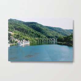Mosel River, Germany II Metal Print