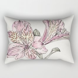 alstromeria Rectangular Pillow