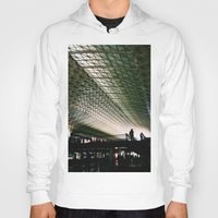 washington dc Hoodies featuring Union Station, Washington DC by Mt Zion Press