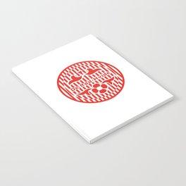Denmark De Rød-Hvide (The Red-White) ~Group C~ Notebook