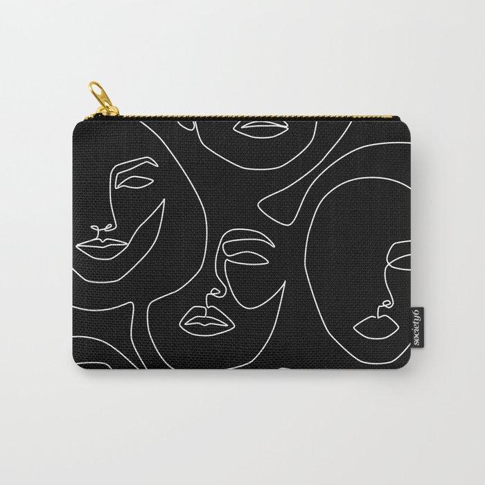 Faces in Dark Tasche