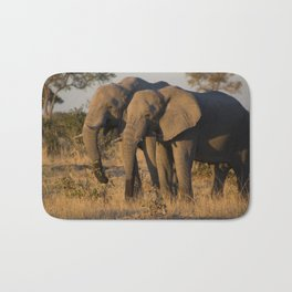 Elephant Pair Bath Mat