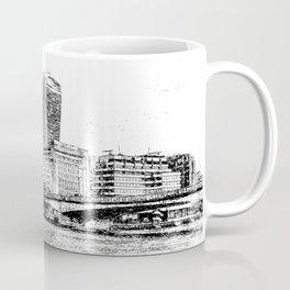 City of London Art Panorama Coffee Mug