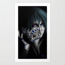 Masked Master Art Print