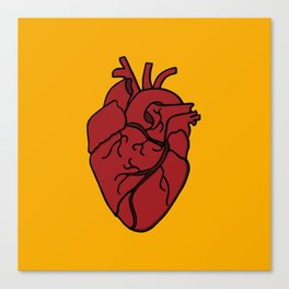 corazon Canvas Print