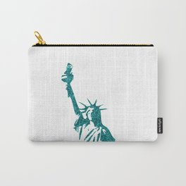 Statue of Glitter Carry-All Pouch