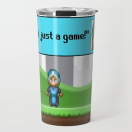 It's not just a Game! [Female Version 1] Travel Mug
