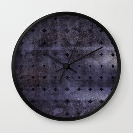 Dark Metal Wall Clock