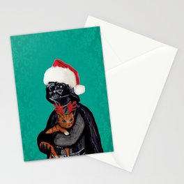 Vader Christmas Stationery Cards