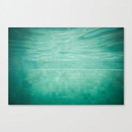 Aquatic Mosaic Canvas Print