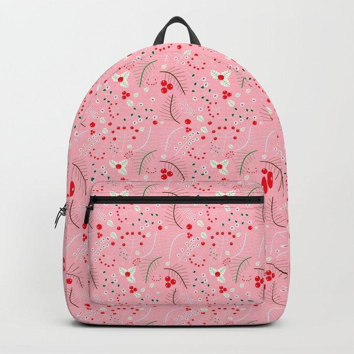 mistletoe Pink Backpack