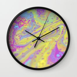 Color Slop Wall Clock