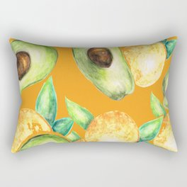 Winter fruits Rectangular Pillow