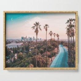 Los Angeles California Serving Tray