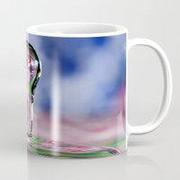 patriotic Mugs featuring Patriotic Splash by ThePhotoGuyDarren