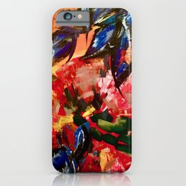 Sunset over the Hudson iPhone Case