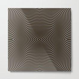 Tree Rings Metal Print