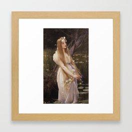 Jules Joseph Lefebvre - Ophelia Framed Art Print