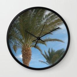 N.A. Palm 2 Wall Clock